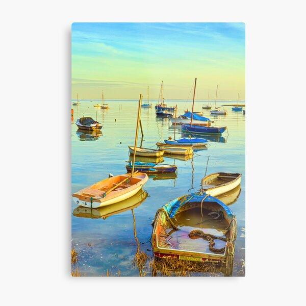 Leigh-on-Sea Metal Print