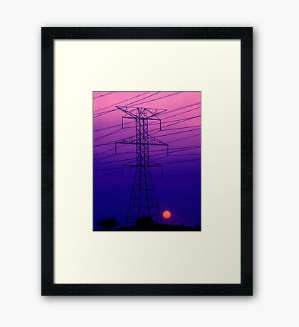 An Electric Dynamo Framed Print