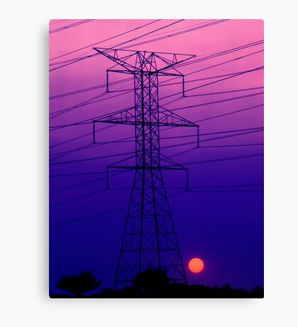 An Electric Dynamo Canvas Print