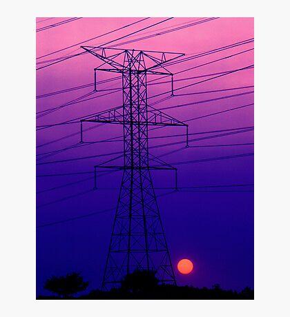 An Electric Dynamo Photographic Print