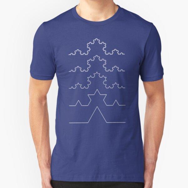 The Koch Curve Slim Fit T-Shirt