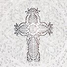 Little  White Cross by MarleyArt123
