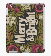 Merry and Bright iPad Case/Skin