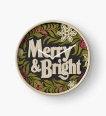 Merry and Bright Clock