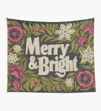 Merry and Bright Wall Tapestry
