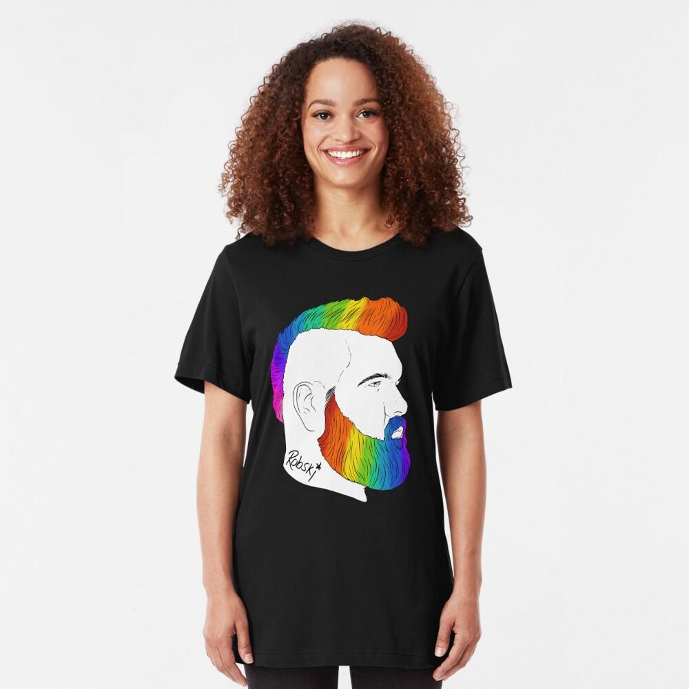 BeefCakeBoss - PRIDE edition Slim Fit T-Shirt