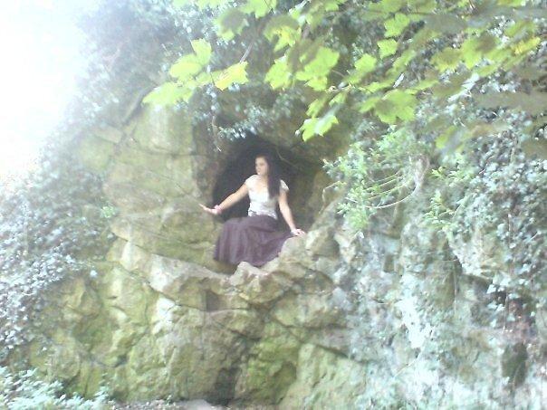woodland fairy by pinkyosborne