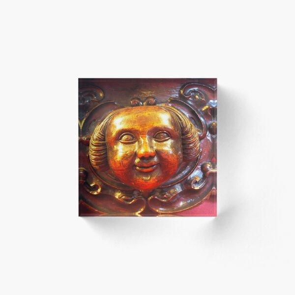 a smiling face Acrylic Block