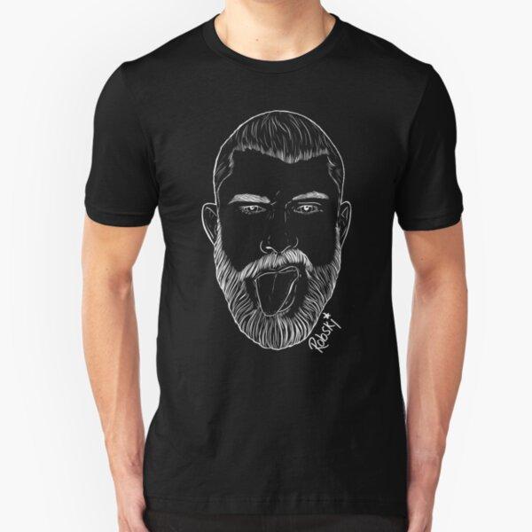 Scott Humpreys- white lines Slim Fit T-Shirt
