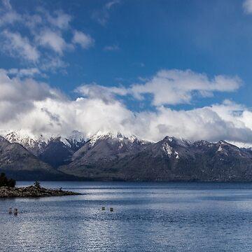 Lake Nahuel Huapi, Patagonia, Argentina by MathieuLongvert