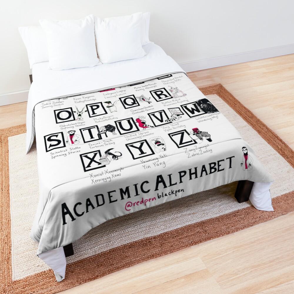 The Academic Alphabet Comforter