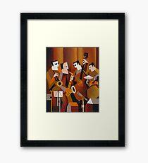 BERNIE McGANN QUARTET Framed Print