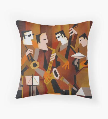 BERNIE McGANN QUARTET Throw Pillow