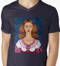 Ines de Castro Mens V-Neck T-Shirt