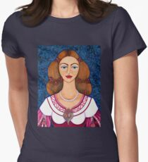 Ines de Castro Womens Fitted T-Shirt
