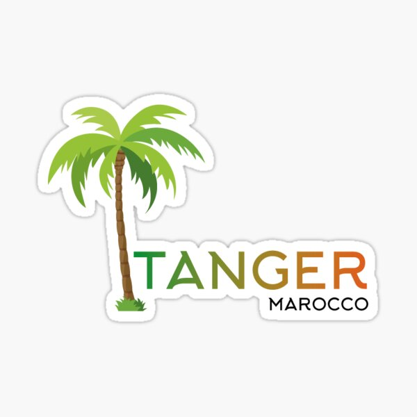 Tanger city Sticker
