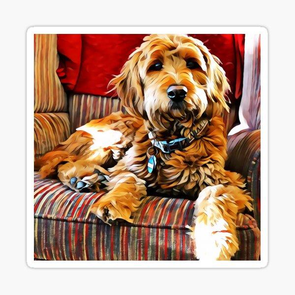 Puppy Dog Chair Warmer Sticker