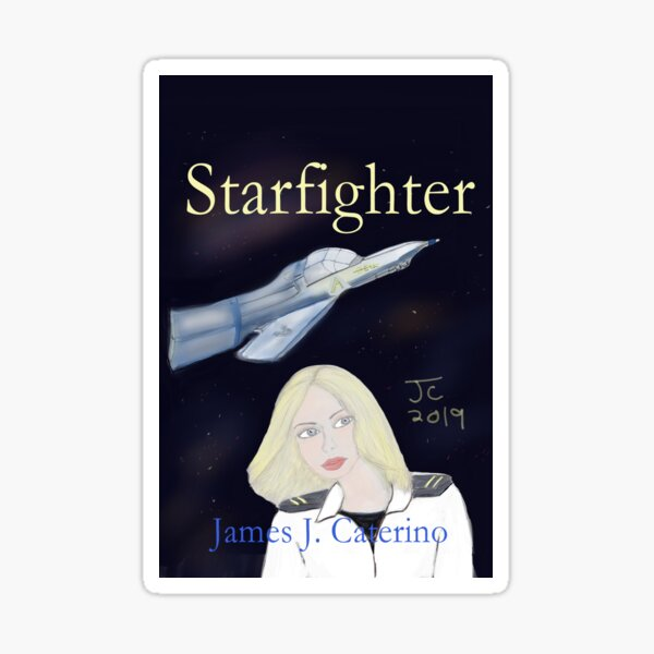 Starfighter Sticker