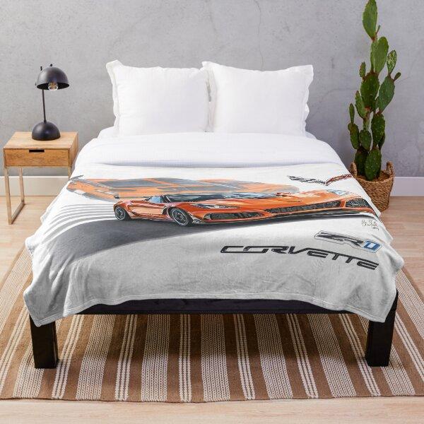 2019 Chevrolet Corvette C7 ZR1 Throw Blanket
