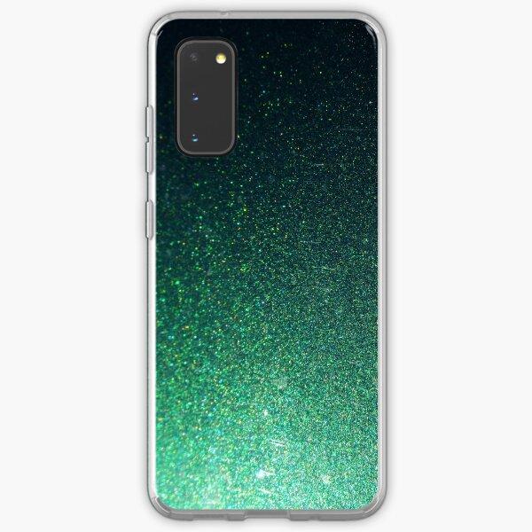 Emerald glitter Samsung Galaxy Soft Case