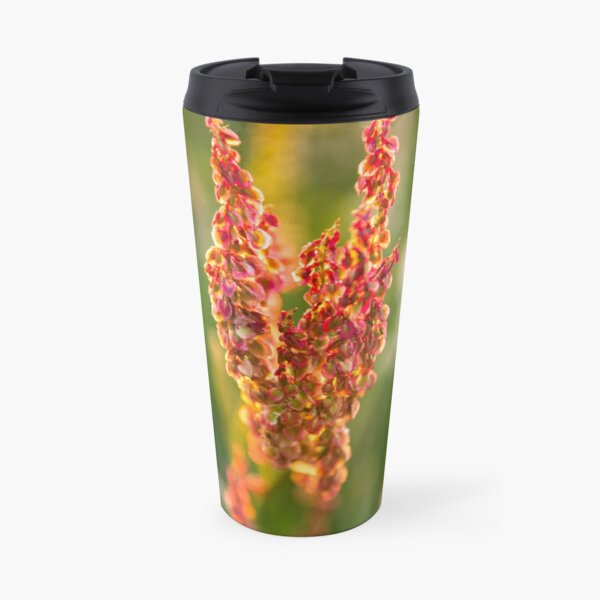 Wild pink flowers from Meadow flower collection  Travel Mug