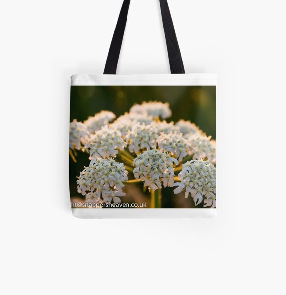 Cowslip in the Meadowflower collection All Over Print Tote Bag