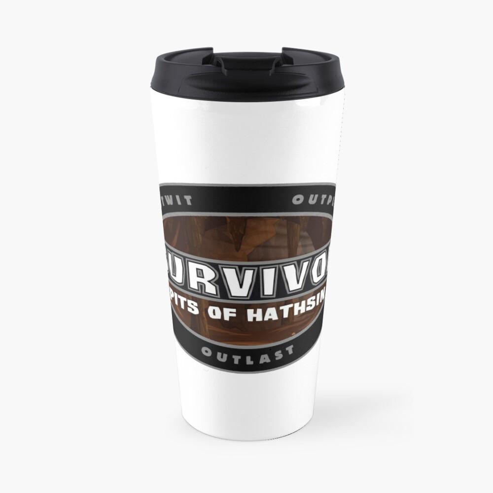 Survivor of the Pits of Hathsin Travel Mug