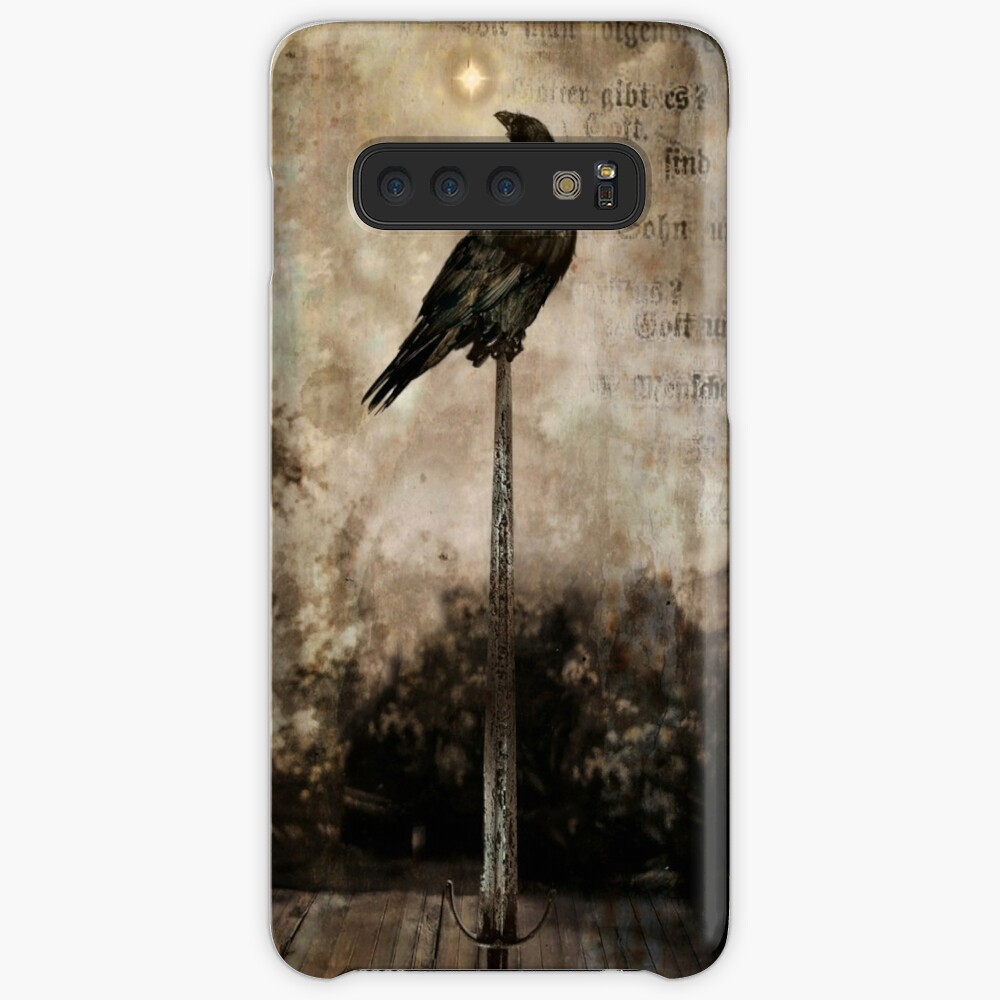 Raven On Sword Samsung Galaxy Snap Case