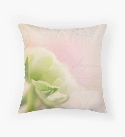 Gentle whisper Throw Pillow