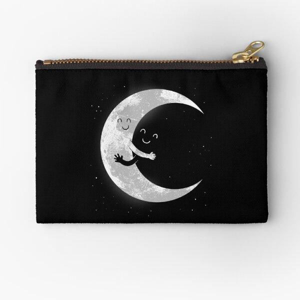 Moon Hug Zipper Pouch
