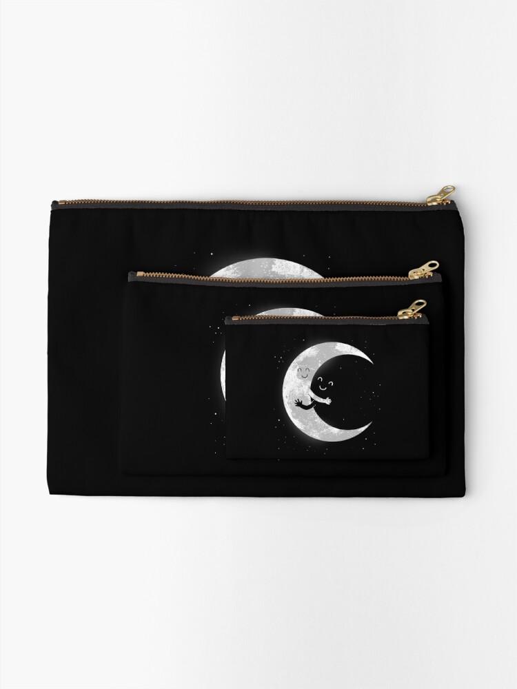 Alternate view of Moon Hug Zipper Pouch