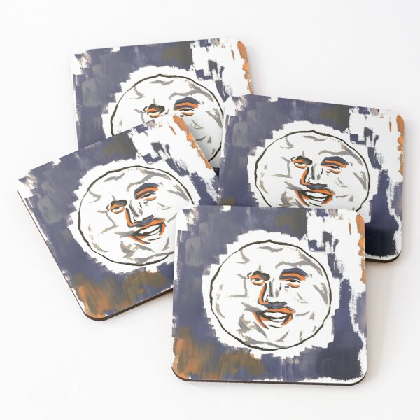 The Mighty Boosh The Moon Coasters (Set of 4)