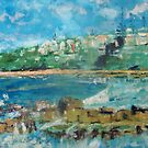 Convent Beach, Yamba, NSW Australia by Margaret Morgan (Watkins)