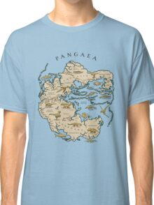 map of the supercontinent Pangaea Classic T-Shirt