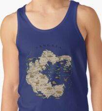 map of the supercontinent Pangaea Tank Top
