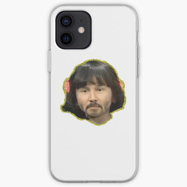 KeaNU Reeves Face  iPhone Soft Case