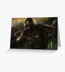 Mortal Kombat - Reptile Greeting Card