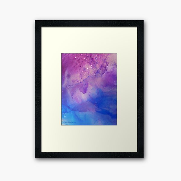 A new awakening - ice work Framed Art Print