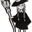 Witchy Girl by webpixie