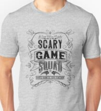 Scary Game Squad Logo (Official) - Black T-Shirt