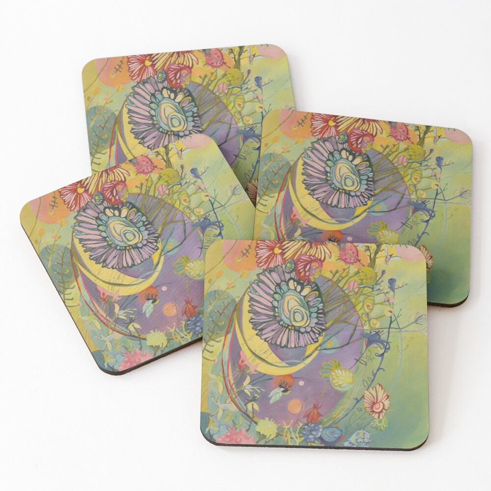 Polinator Coasters (Set of 4)