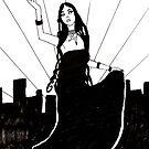Goth in the City by webpixie