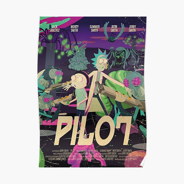Rick and Morty - Pilot Poster Poster