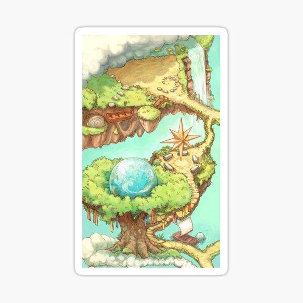 (A) Carte des cahiers Contributopia Sticker