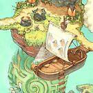 « (B) Carte des cahiers Contributopia » par David  Revoy