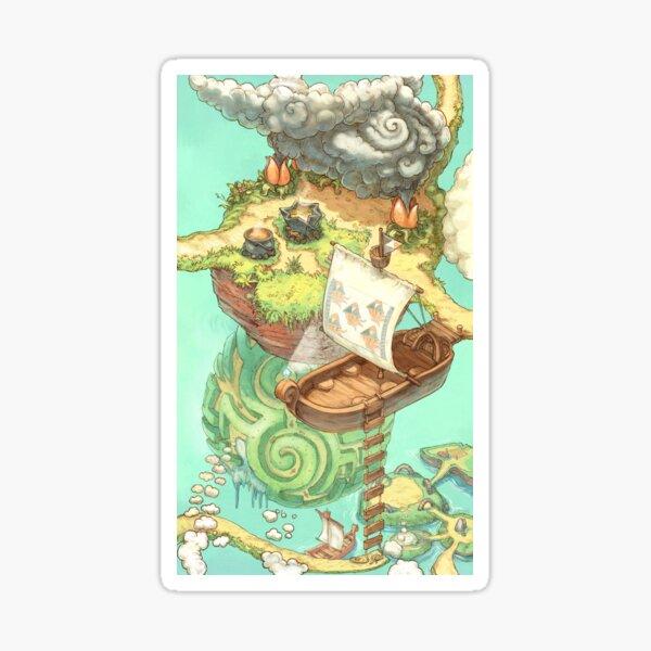 (B) Carte des cahiers Contributopia Sticker