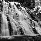 Rhiwargor Falls by Paul Whittingham