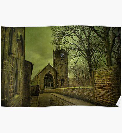 St Michael's And All Angels' Parish Church, Haworth Poster