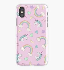 Unicorn Dream Pattern iPhone Case