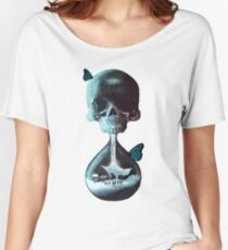 Until dawn - skull and butterflies Women's Relaxed Fit T-Shirt